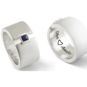 custom silver jewelery